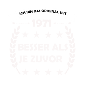 Geboren 1971, 40 Jahre, Das Original