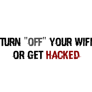 Hacked Wifi Shirt Fun