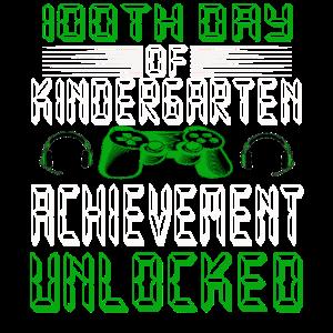 100 Tage Schule Geschenk Hobby Gamer Game Spielen