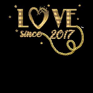 Valentinstag Jahrestag Liebe seit 2017