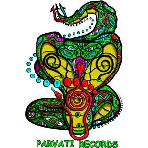 Parvati Records Cobra logo by Juxtaposed HAMster