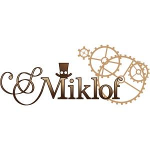 miklof logo gold wood gradient 3000px