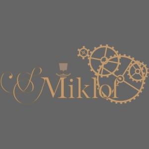 miklof logo gold outlined 3000px