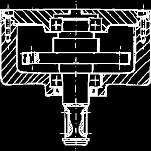 Technische Zeichnung Welle