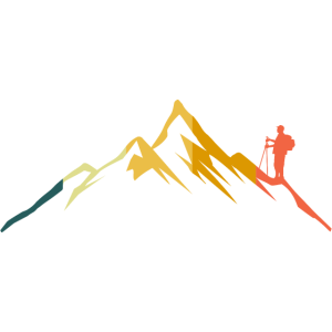 Wandern Berge Wanderer Berg Bergsteiger Retro