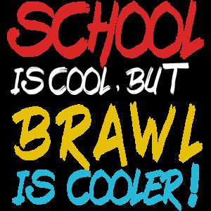 School is cool but brawl is cooler für stars.