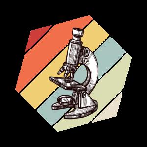 Retro Vintage Mikroskop