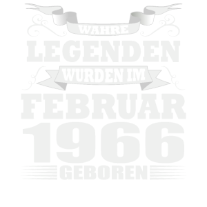 Legenden wurden Februar 1966 geboren Geburtstag