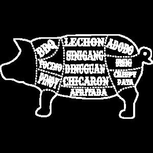 BBQ Schwein Grillen