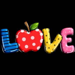 Fruchtige Liebe.