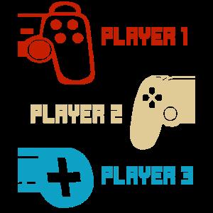 Video Gaming Player - Gamer Controller