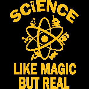 Wissenschaft wie Magie aber echte Retro-Wissenschaftslehrer
