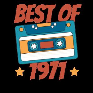 Kassettenband Best Of 1971 50. Geburtstag