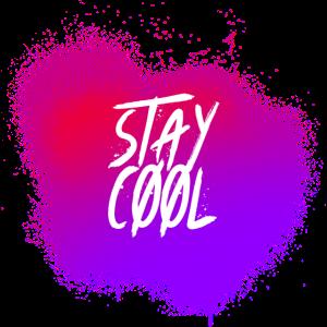 Bleiben Sie cool, Paint Splash, Graffiti Paint