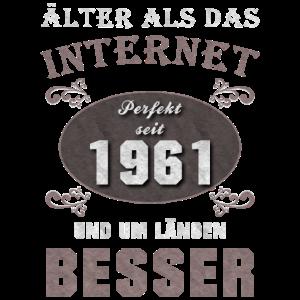 Älter als das Internet 1961 Geboren