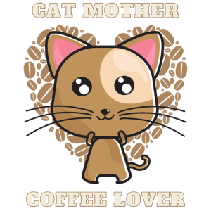 Cat Mother Coffee Lover