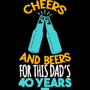 Geschenk zum 40ten Geburtstag von Papa