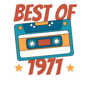 Best Of 1971 50. Geburtstag Musikkassette