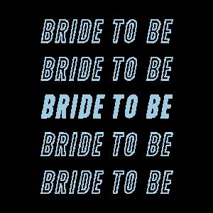 Bald Braut cooles Brautgeschenk wiederholend