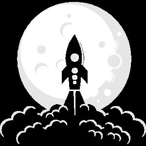 Areospace Enginnering Mond Astronaut Geschenk Tech