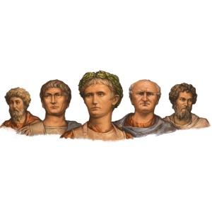 Popiersia cesarskie | Imperial busts