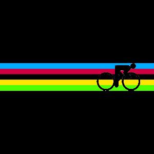 Regenbogen Trikot Weltmeister Radsport Cycling