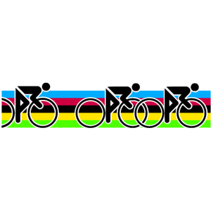 Regenbogen Trikot Radsport Cycling Rennrad