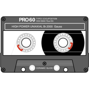Cassette SONY UX Pro black