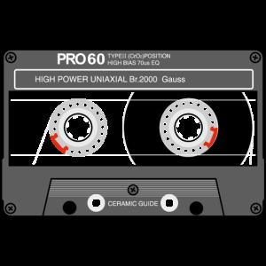 Kassette SONY UX Pro schwarz
