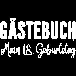 Gästebuch main 18 Geburtstag