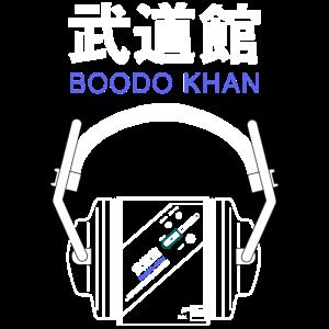 Boodo Khan Walkman mit Headhones & Titel