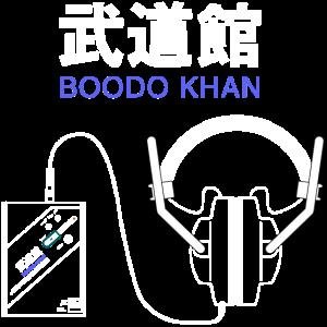 Boodo Khan Walkman mit Kopfhörern aus Titel