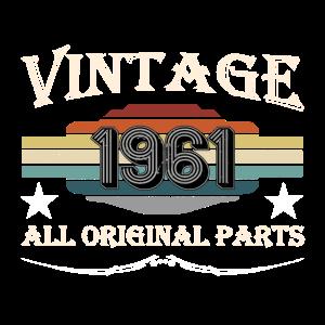 Retro Geburtsjahr 1961 Originalteile