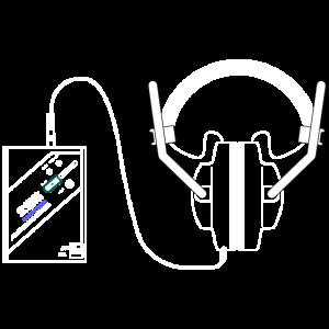 Boodo Khan Walkman mit Headhones aus