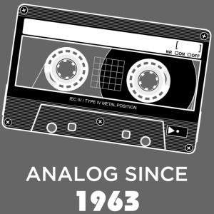 Analog since 1963
