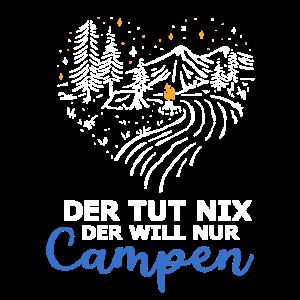 Der Tut Nix Campen Camper Wohnwagen Geschenk