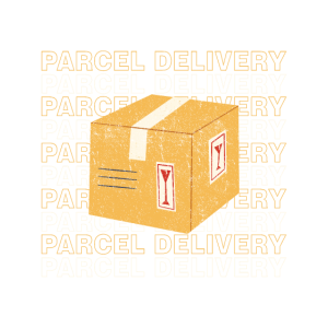 Lieferfahrer Paketbote