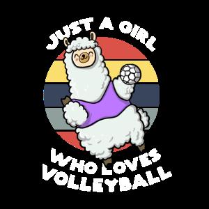 Volleyball Alpaka Handball Lama