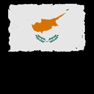 Flag of Cyprus - Zypern Flagge - Shabby look