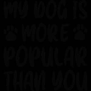 Mein Hund ist beliebter als du