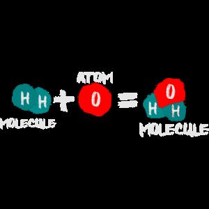 Atome vs Moleküle