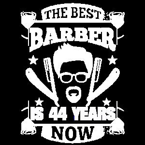 44. Geburtstag Barber 44 Jahre Barbershop