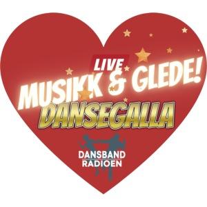 Musikk & Glede Hjertemotiv