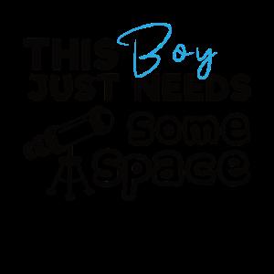 Science Boy Dieser Junge braucht etwas Astrophysik