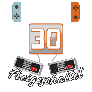 Level 30. freigeschaltet Gamer Geschenkidee