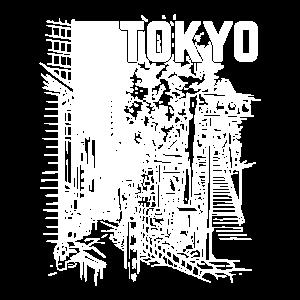 Tokyo city black and white by The Manzanita´s