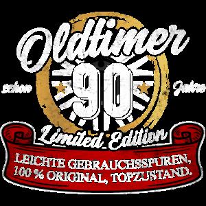90. Geburtstag Oldtimer Model 90 Jahre Geburtstag