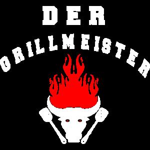 Grillmeister Grillen Chillen Lustiges BBQ Spruch
