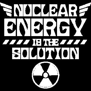 Atomkraft ist die Lösung Atom Kernkraft Nuklear