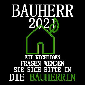 Bauherr 2021 Hausbau Geschenke